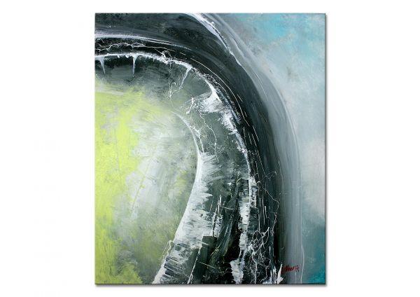 """Umkehren"" - kunstvolles Gemälde in Acryl - modernes Wandbild"