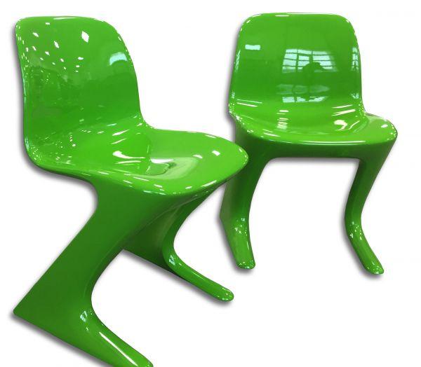 Design KLASSIKER Original VARIO-PUR Z-STUHL CHAIR grün