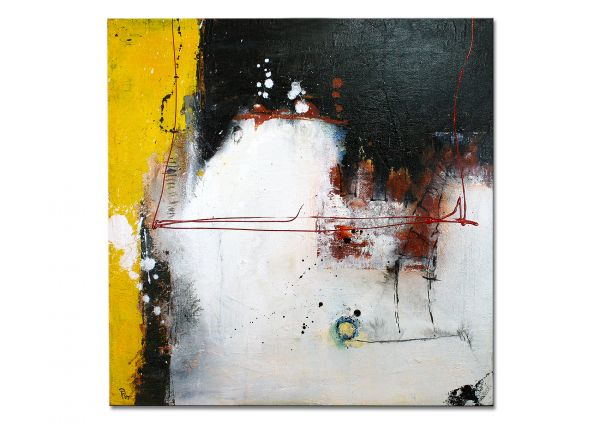 """Moderne Gemälde, P. Klos: """"Read My Mind II"""""""