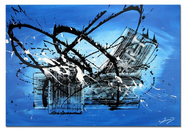 "Moderne Kunstbilder Gemälde art, Etienne Donnay: ""Acapulco"""