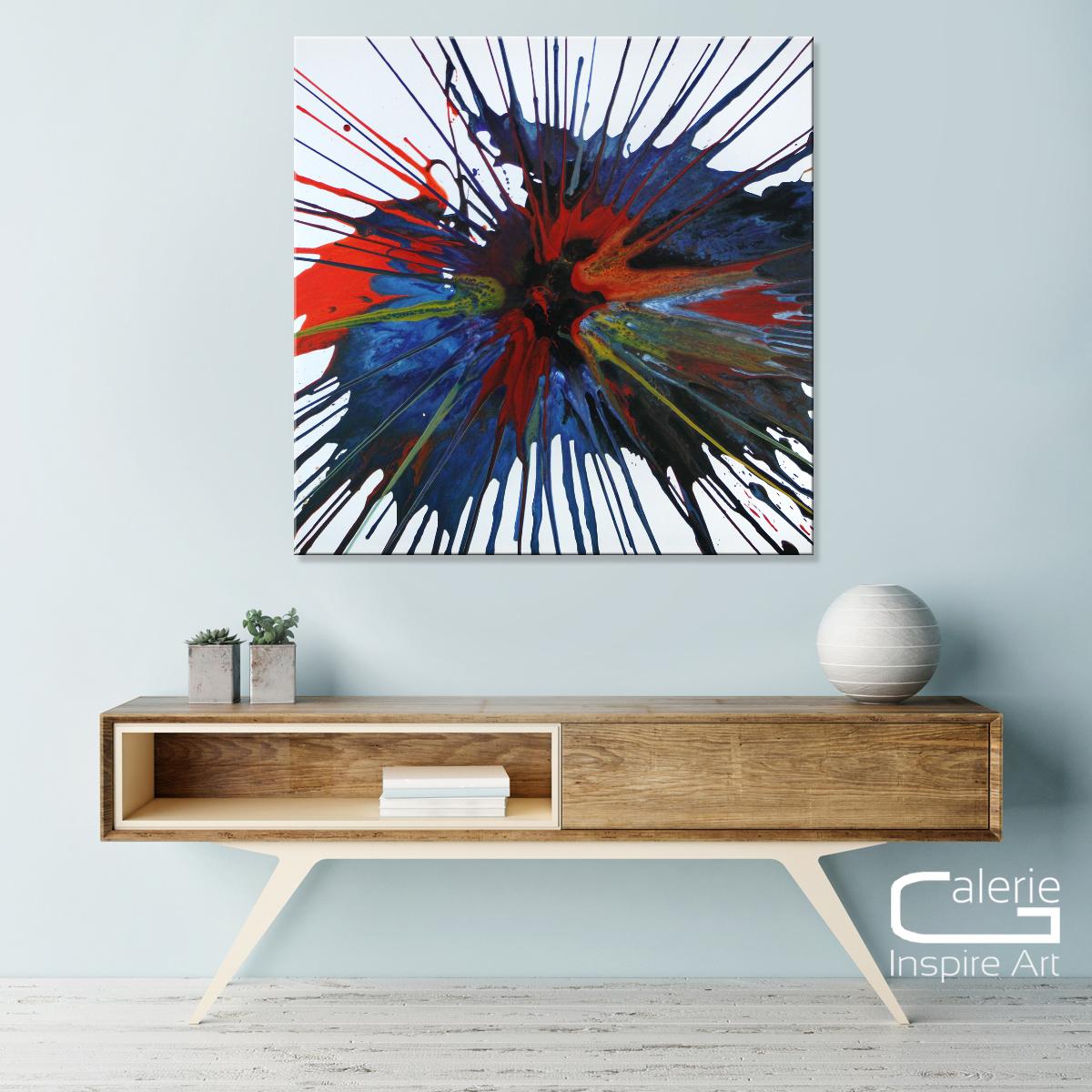 abstrakte kunst kaufen excalibur gem lde acrylkunst online galerie galerie inspire art. Black Bedroom Furniture Sets. Home Design Ideas