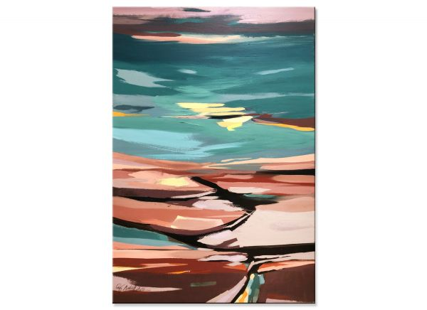 Landschaft in Pastell