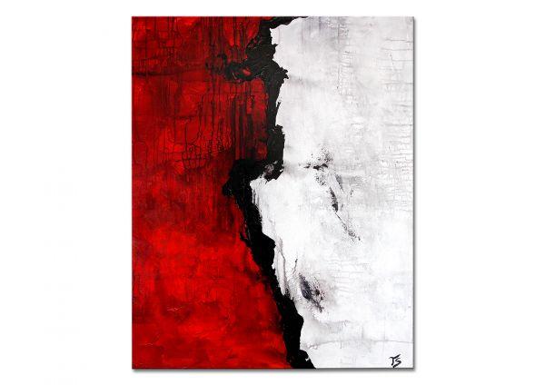 """Moderne abstrakte Kunst Galerie Leinwandbild, Thomas Stephan: """"Whisper"""" (RI)"""