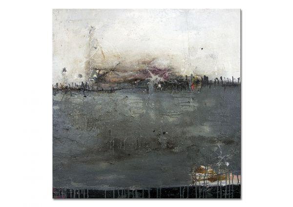 """Prächtiges Kunstwerk, abstrakte Kunst """"Hinter dem Horizont"""""""