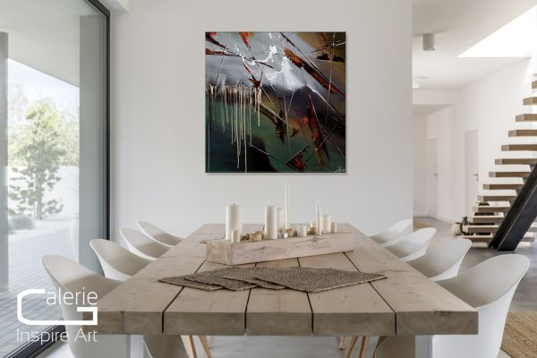 "Acrylgemälde moderne Kunst, Dieu: ""Final Fantasy"" sehr ästhetisch"