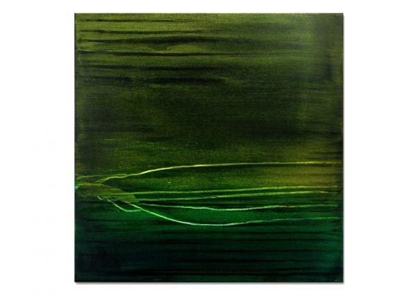 grünes Gemälde