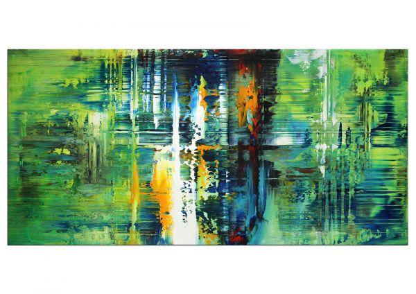 Abstrakter Expressionismus Bilder grün