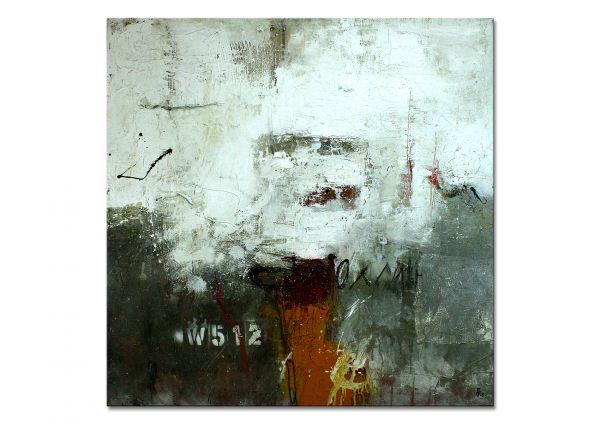"""""""Erinnerungen an Freitag 5.12."""" abstraktes Gemälde in Acryl"""