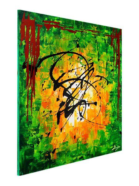 "Moderne abstrakte Kunst Leinwandbild , Etienne Donnay: ""Venice Calling II"""