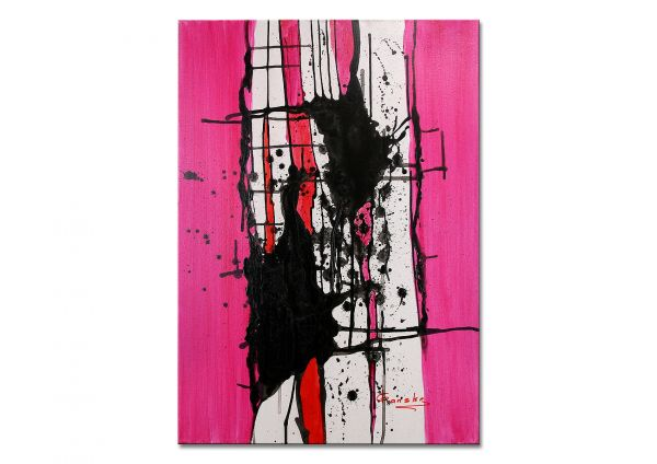 "Abstrakte Bilder kaufen Acrylkunst, I.Ganske: ""Abstrakt VII"""