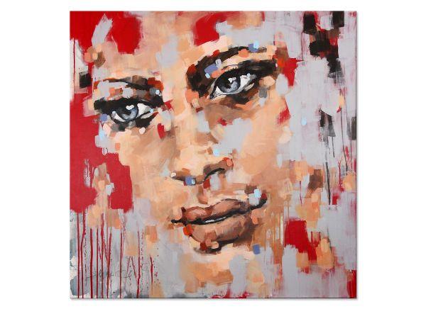 Gemälde Portraitkunst modern