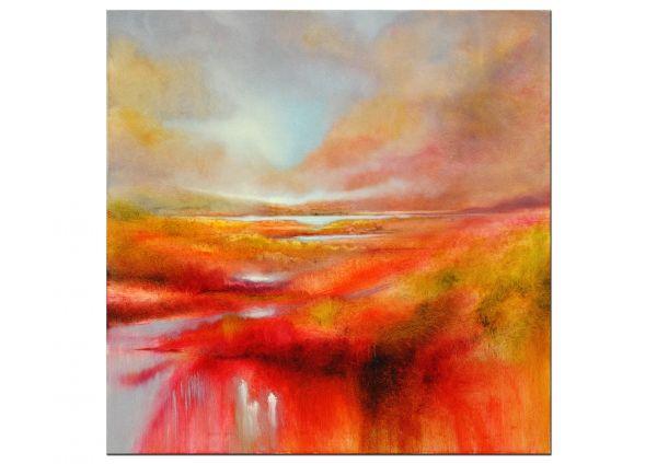 abstrakte Landschaft Annette Schmucker