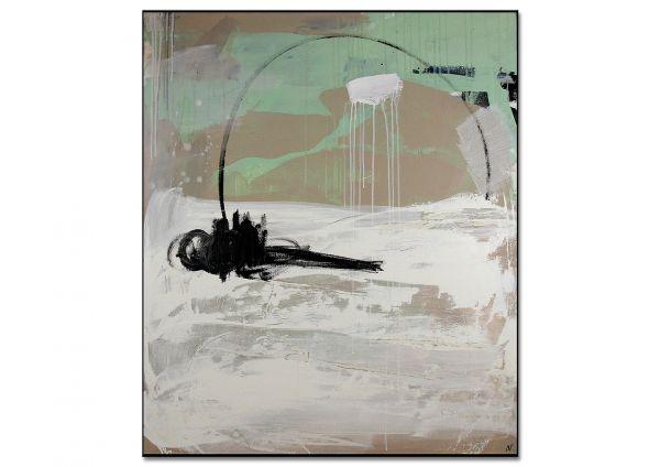 """Kunst Unikat modernes Gemälde, Conny Wachsmann: """"Sich seinen Freiraum angeln Nr. 2"""""""