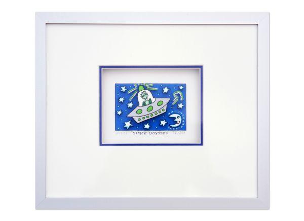 SPACE ODYSSEY-James Rizzi Halbe-Magnetrahmen