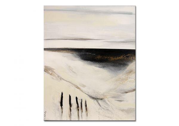 "Moderne abstrakte Kunst, C.Niehoff: ""Strandruhe II"""