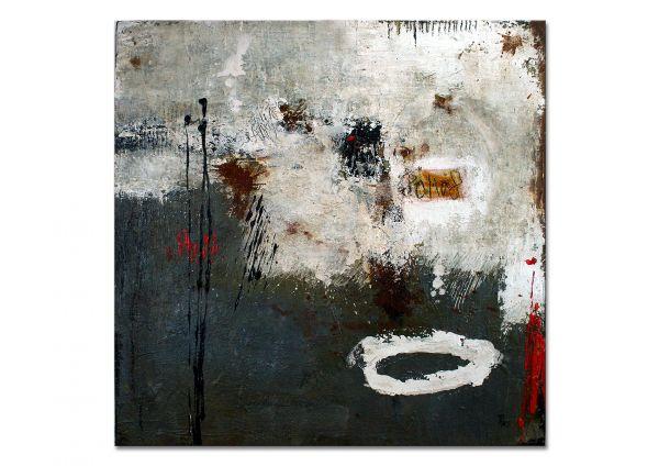 """""""Eisspuren"""" - modernes Acryl Wandbild - abstrakte Kunst"""