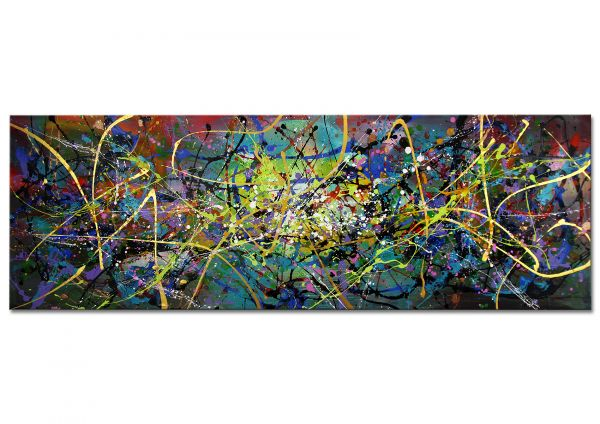 "Abstraktes Galerie Unikat, Dieu: ""Grenzenlos"""