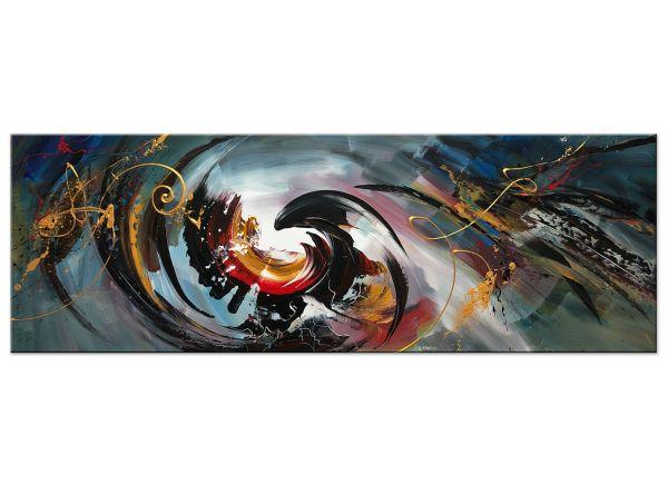 Verschmelzung abstrakte Acryl Gemälde Bilder modern Art
