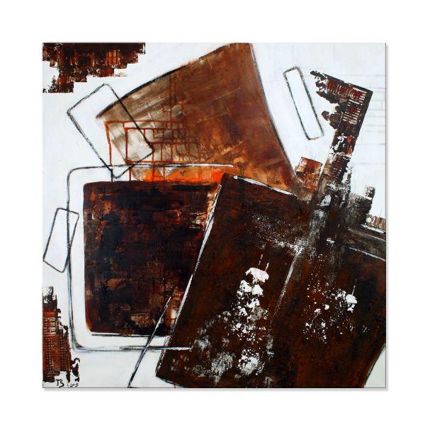 """Betamines"" - Original Wandbild modern - Acrylmalerei abstrakt"