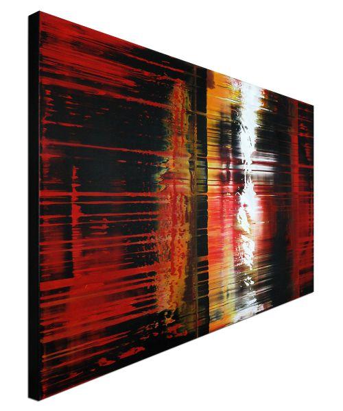 "Acrylgemälde v. Dieu: ""Momentum"" abstrakt modern"