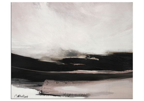 Niehoff Malerei abstrakte Landschaft