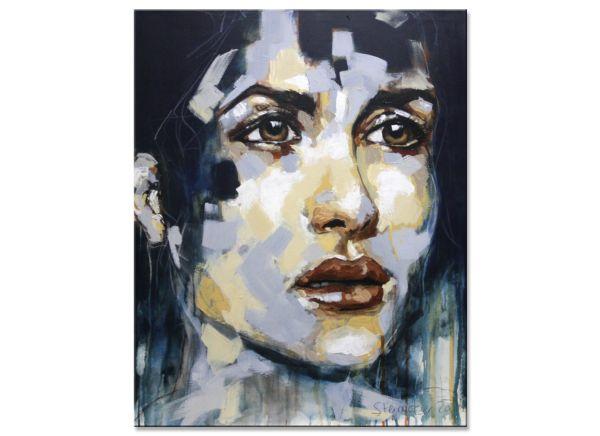 abstrakt portrait gemälde modern