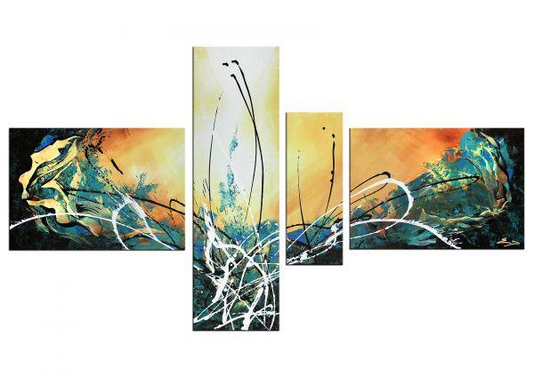 Gemälde mehrteilig Donnay