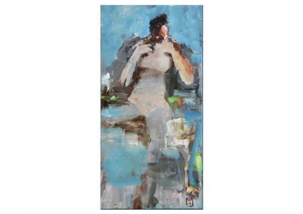 Akt Gemälde Frau