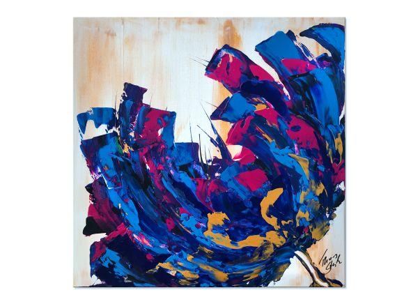 zeitgenössische Malerei Blüte