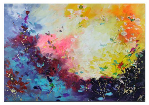 """Moderne Kunst kaufen """"Melody"""" faszinierendes Gemälde"""
