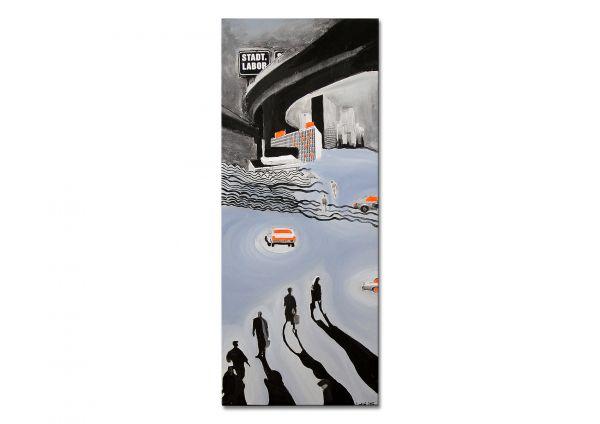 """Contemporary Art, Kunst online kaufen von Losaij: """"Cosmopolitain"""""""