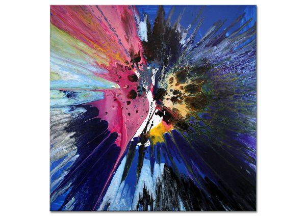 """Abstraktes Original Gemälde von Dieu """"Ozeanien"""""""