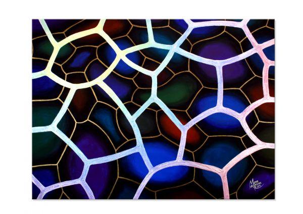 """""""Netzwerk"""" - modernes Acryl Gemälde - Originalkunst"""