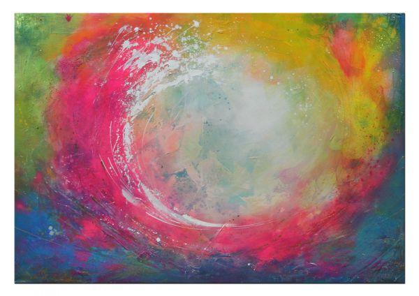 """Moderne Gemälde kaufen """"Start Now"""" feinste Acrylkunst"""