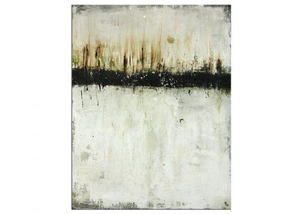 """Gemälde von P.Klos """"Winterwald"""" exklusive Galeriekunst"""