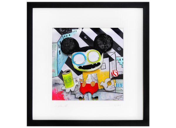 Limitierte Kunst Edition Serie signiert Rendle Fineartprint Lollipop