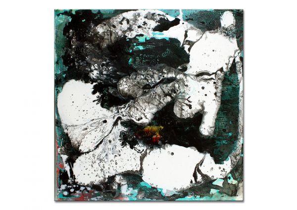 """""""Fusion I"""" - abstraktes Wandbild - zeitgenössische Kunst"""