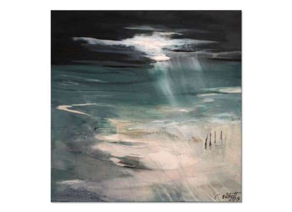 Bilder Kunst abstrakte Landschaft Gemälde