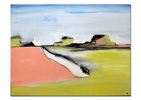 farbige Landschaft Kunst