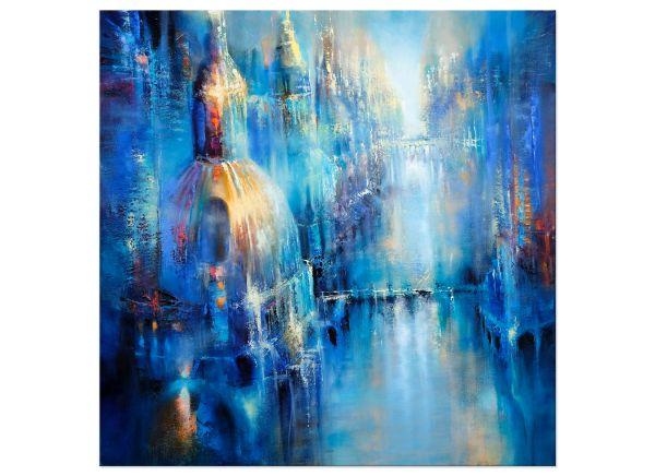 Stadtbild Kunst Gemälde Metropole