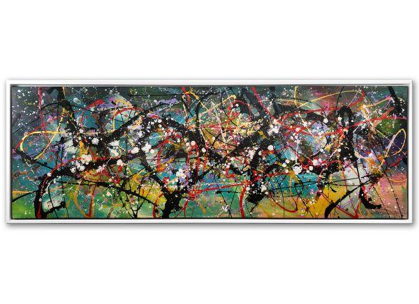 Leinwandbild abstrakt Acryl