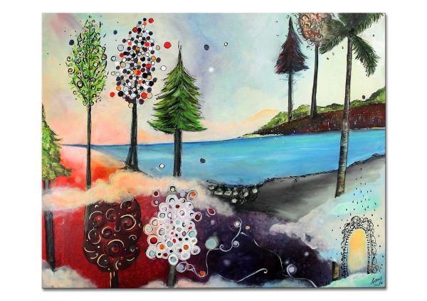 "Darstellende Kunst, informell, Originialkunst, Losaij: ""Ocean Aspiration"""