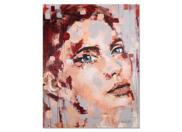 Gemälde Portrait modern