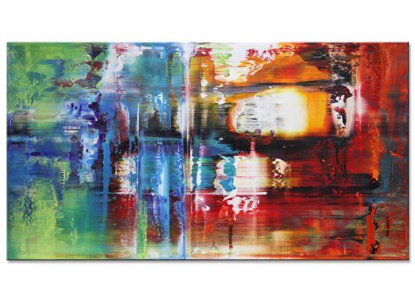 abstrakte Acryl Gemälde Bilder modern Art Auferstehung