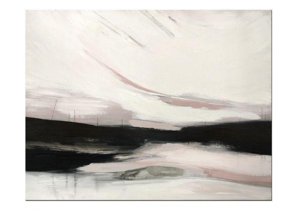 Gemälde Bild abstrakte Landschaft