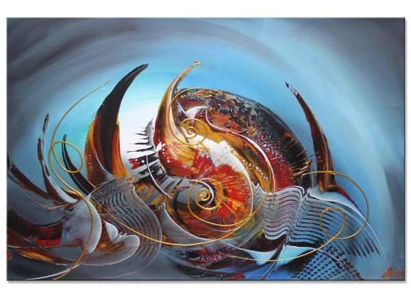 abstrakte Acrylbilder Bittersweet