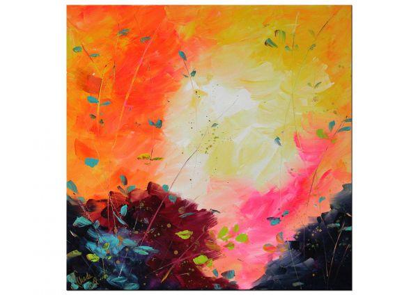 """Originalkunst """"Lichte Tage II"""" originelles erfrischendes Gemälde"""