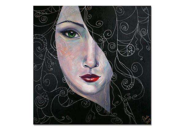 """""""Erwartung"""" - zeitgenössisches Gemälde in Acryl"""