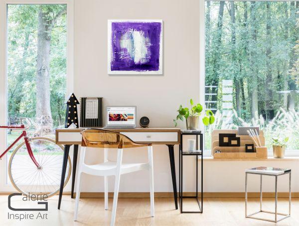"""Abstrakte Bilder auf Leinwand kaufen, Thomas Stephan: """"Am Rande der Stadt"""""""