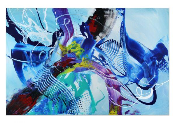 "Gemälde ""Faszination Farbe"" Acryl auf Leinwand"